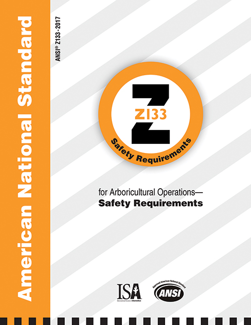 ANSI Standard Z133 Arboricultural Safety Standards