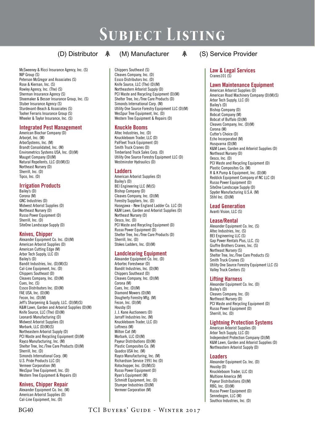 TCIA Buyers Guide Winter 2017 Digimag