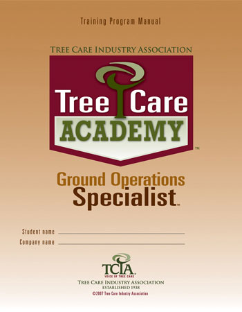 Tree Care Academy Ground Operations Manual Only - English